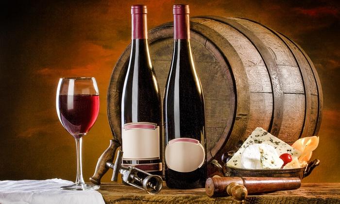 Image That Displays Vintage Red Wine Bottle